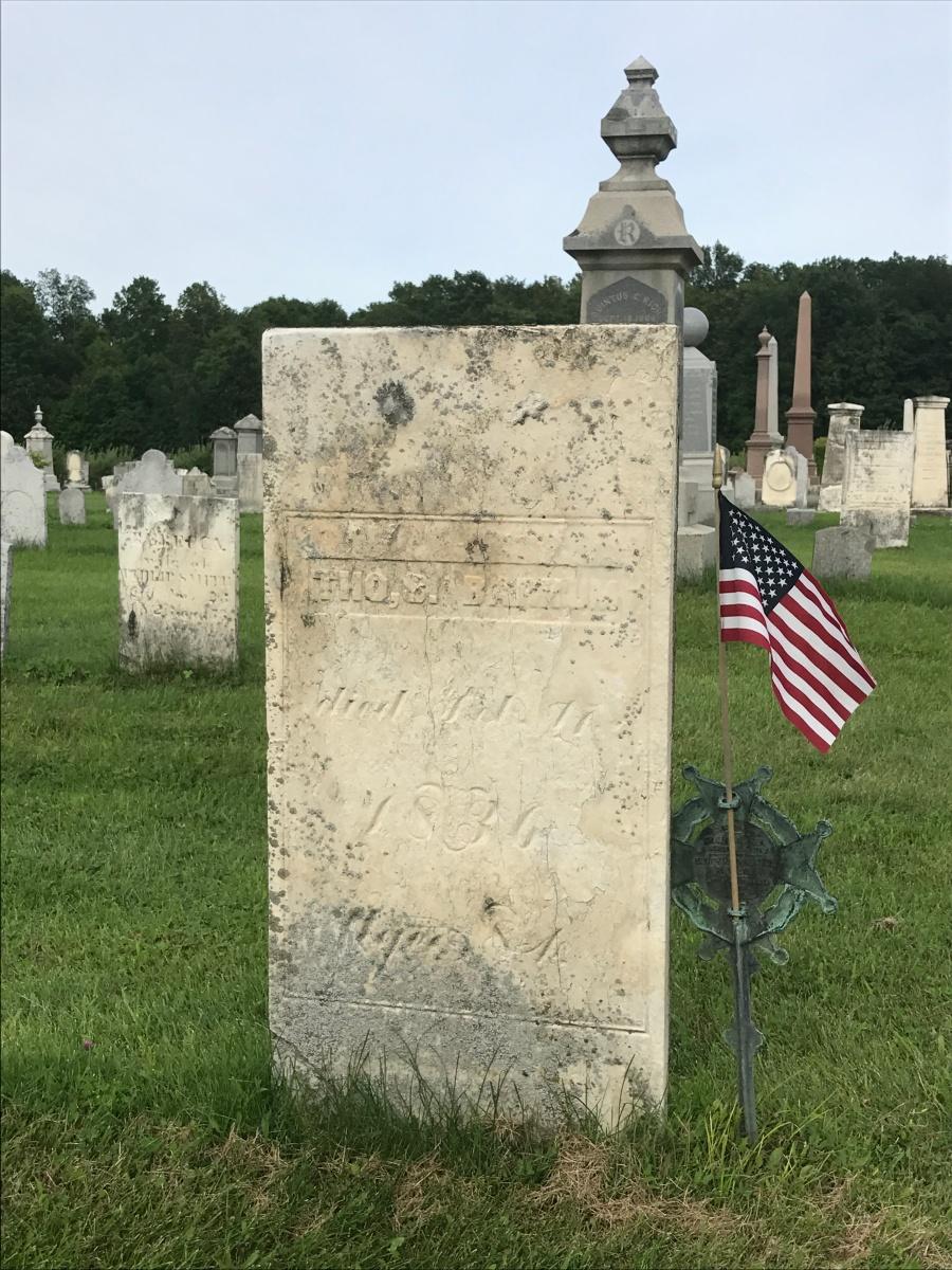 Brave Creepy Bone Yards To Research Revolutionary War