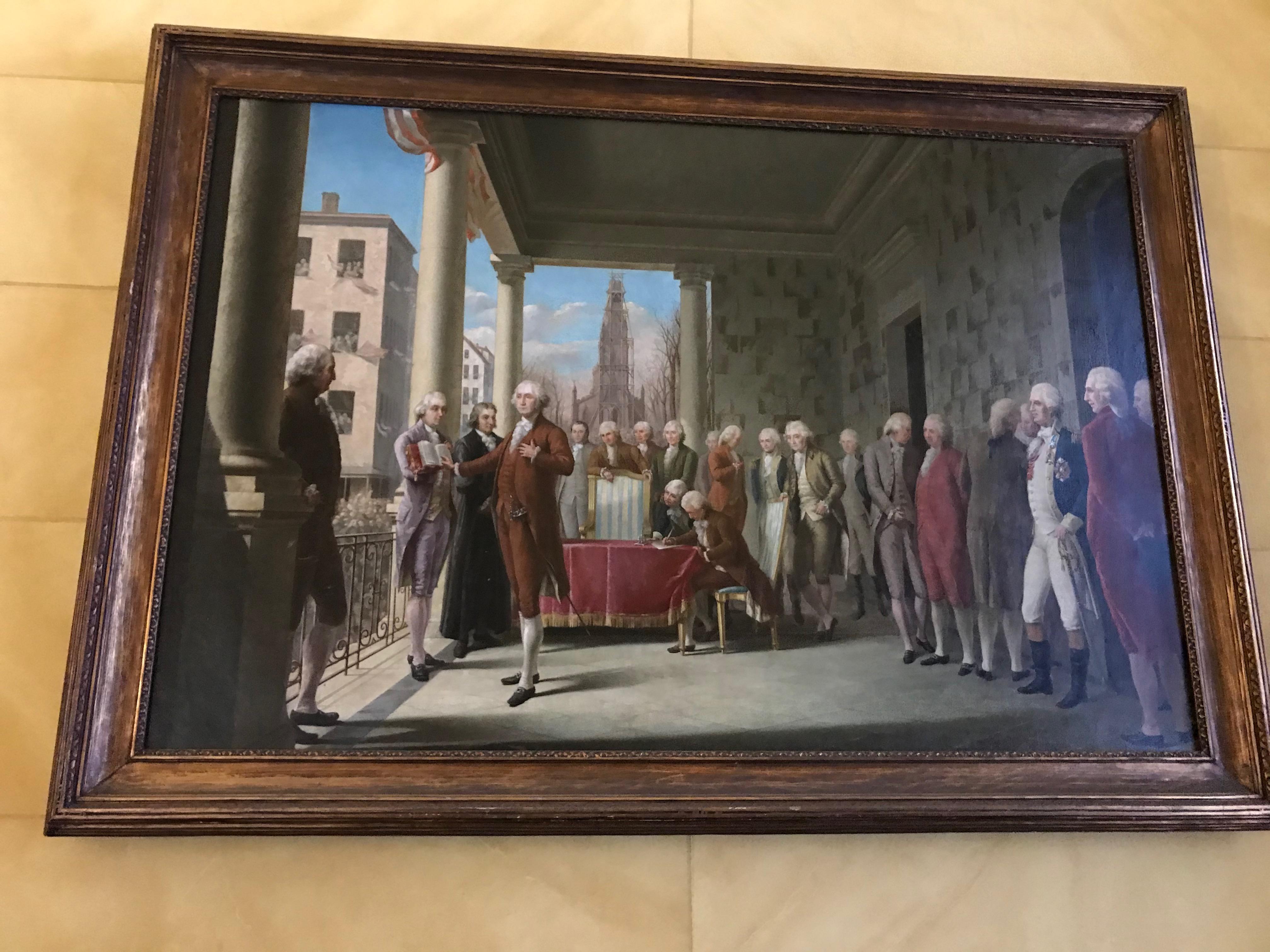 George Washington - Presidential Inaguration
