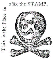 affix the stamp