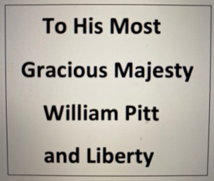 To his most gracious majesty